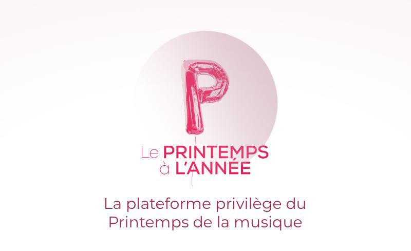 Logo rose du Printemps à l'année