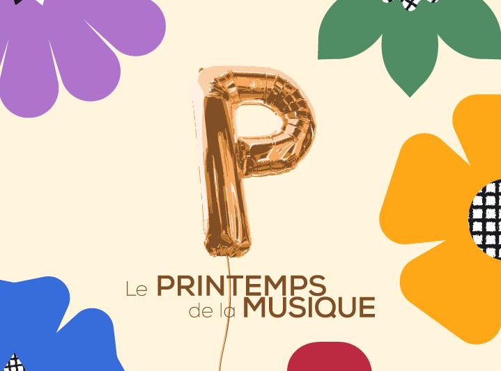 Logo - Printemps de la musique de Québec